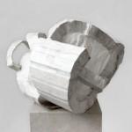 3 Annette Wimmershoff, Rothenberger, sculpture, 2012 Karton_Washi_Papier_Kreide  38 x 60 x 56 cm