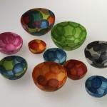 radish paper bowls